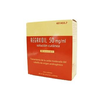 Imagen ampliada del producto REGAXIDIL 50 mg/ml SOLUCION CUTANEA , 1 frasco de 60 ml