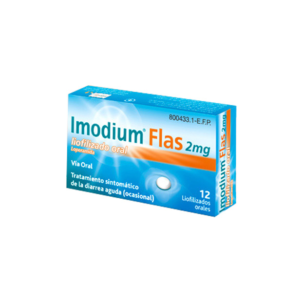 Imagen ampliada del producto IMODIUM FLAS 2 MG 12 LIOFILIZADO ORAL