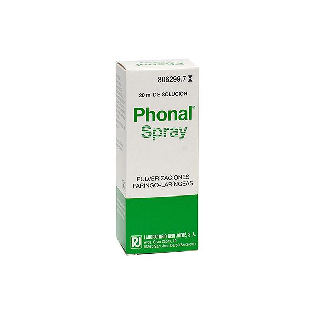 Imagen ampliada del producto PHONAL SPRAY 20 ML